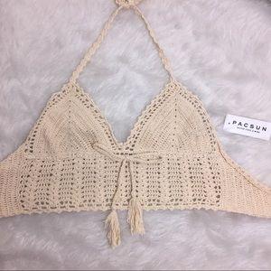 Kendall & kylie crochet Bra Top